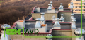 Крышный элемент вентиляции вращающийся AVD-250