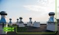 Крышный элемент вентиляции прямоуголный AVD-630
