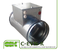 Воздухонагреватель C-EVN-K-200-4,5 электрический для канальной вентиляции