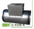 Электрический воздухонагреватель C-EVN-K-150-1,5 для круглых каналов