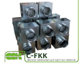 Фильтр C-FKK-125 для очистки воздуха канальный