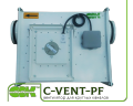 C-VENT-PF-315А-4-380 вентилятор канальный с вперед загнутыми лопатками