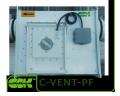 C-VENT-PF-355-4-380 вентилятор канальный для круглых каналов с вперед загнутыми лопатками
