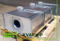 C-KVARK-P-60-35-31-2-380 вентилятор канальный радиальный прямоугольный с трехфазным электродвигателем