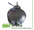 Дроссель-клапан универсальный воздушный C-DKK