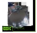 Дроссель-клапан C-DKK-315 универсальный воздушный