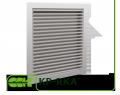 Решетка KP-RKO (RKA)-100-100 нерегулируемая для канальной вентиляции