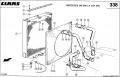 Радиатор водяной комбайна CLAAS MEGA 204