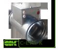 Электрический воздухонагреватель для круглых каналов C-EVN-K