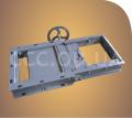 ЗРР_Р-450, Задвижка запорно-роликовая реечная ручная, сечение 450х450