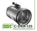 Дроссель-клапан C-DKK универсальный воздушный