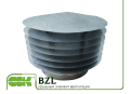 Round roof BZL-710 element. Elements and accessories of systems of ventilation