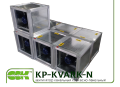 KP-KVARK-N-80-80-6-5,6-6-380 вентилятор з ЄС-двигуном канальний