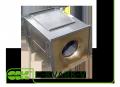 Вентилятор C-KVARK-35-35-4-380 канальный квадратный с трехфазным электродвигателем