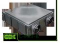 Теплоутилизатор C-PKT-K-200 вентиляционный пластинчатый
