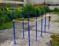 Parque de exercícios de rua