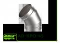 AD-KPO-45 відведення 45 градусів для повітроводів круглого перетину
