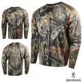 Футболка для охоты и рыбалки Browning Hell's Canyon Lightweight Base Layer Shirt MO Country
