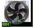 C-OZA-C-050-380 вентилятор канальный осевой монтаж в стену