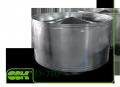 Крышный элемент вентиляции круглый D-500 ZS