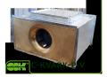 C-KVARK-P-50-30-22-2-380 вентилятор канальный радиальный прямоугольный с трехфазным электродвигателем