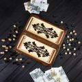 Exclusive chess - handmade backgammon STRYI, art.NSh-003