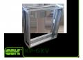 Вставка гибкая KP-GKV-42-42 для канальной квадратной вентиляции