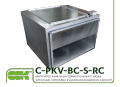 C-PKV-BC-S-90-50-6-380-RC вентилятор в шумоизолированном корпусе