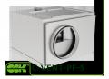 C-VENT-PF-S  вентилятор канальный для круглых каналов с вперед загнутыми лопатками в шумоизолированном корпусе