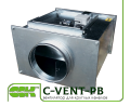 C-VENT-PB-150А-4-220 канальный вентилятор с назад загнутыми лопатками