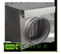 Нагреватель C-KVN-K-160 канальный водяной для круглых каналов