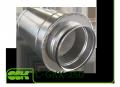 Шумоглушитель C-GKK трубчатый канальный для круглых каналов