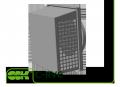 Вытяжная канальная решетка C-RVC-100 с сеткой