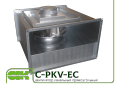 Вентилятор C-PKV-EC-60-35-2-380-RC для канальной вентиляции с ЕС-двигателем