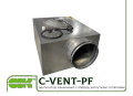 C-VENT-PF-250-4-220 вентилятор канальный с вперед загнутыми лопатками