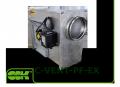 Вентилятор канальний для круглих каналів вибухозахищений C-VENT-PF-EX-150-4-380