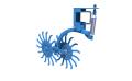 Борона мотыга ротационная Antoks-18
