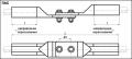 Зажимы соединительные переходные ПАС-300-2.