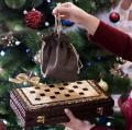 Шахматы-шашки-нарды ручной работы, эксклюзивная резьба по дереву, арт.НШ-002