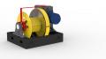 Лебедка маневровая ЛМ-140 с механизмом отключения барабана