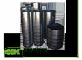 Воздуховод AD-SPN спиральнонавивной из оцинкованной стали