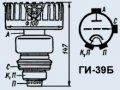 Лампа генераторная ГИ-39Б