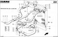 Радиатор водяной для комбайна Claas Jaguar 860