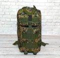 Сумка EDC тактический - рюкзак Military. 25 L.  Темный камуфляж