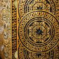 Нарды резные ручной работы, выполнены в стиле геометрической резьбы, размер: 510*300*90 мм, арт.H-012