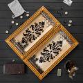 Нарды ручной работы, оригинальный подарок, арт. Н-022