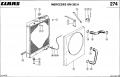 Радиатор водяной комбайна CLAAS DOMINATOR 98