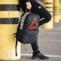Черный стильный рюкзак Reebok