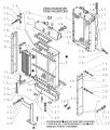 Радиатор водяного охлаждения двигателя бульдозера New Holland D180