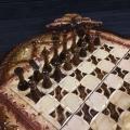 Шахматы и нарды ручной работы, арт.НШ-007